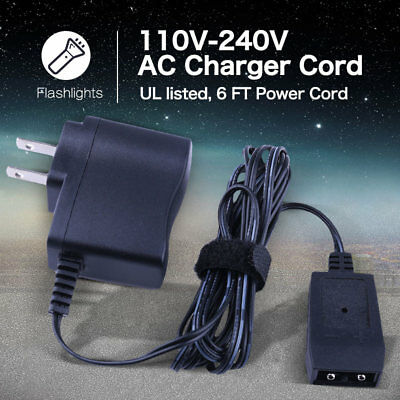 12V Charger for Streamlight Flashlight Adapter Charger Cord AC All Rechargeable