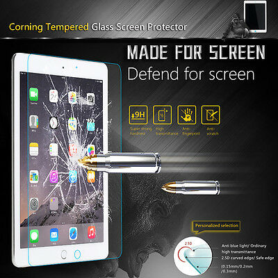 Premium Tempered Glass Screen Protector for iPad 2017 Air Mini 4 Pro 10-5 9-7