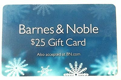 25 Barnes and Noble Gift Card
