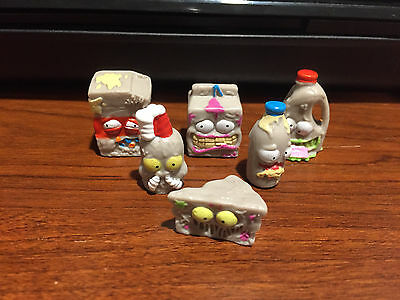 The Grossery Gang Series 2 Lot of 6 Rare Gray Grossery Gangs