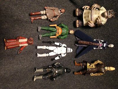 Mixed Lot Of 7 Star Wars Action Figure All In Good Condition