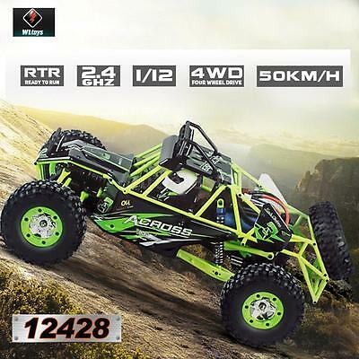 WLTOYS 12428 112 2-4G 4WD ELECTRIC BRUSHED CRAWLER RTR RC CAR BEST GIFT USA