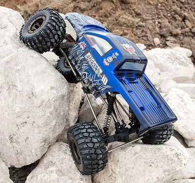 REDCAT RACING EVEREST-10 110 SCALE ROCK CRAWLER ELECTRIC  RC CAR  2-4GHz BLUE