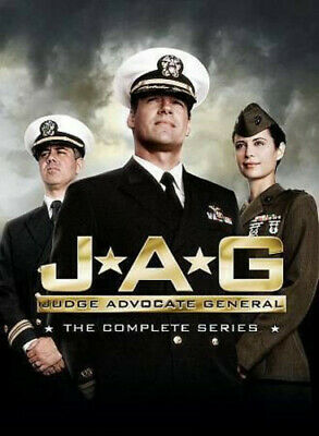 Jag The Complete Series DVD