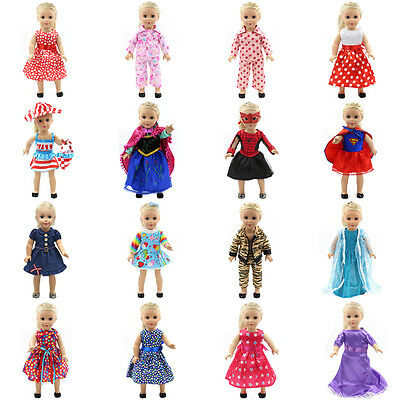 Fits 18 inch Doll Girls Doll Handmade fashion Doll Clothes dress Outfit