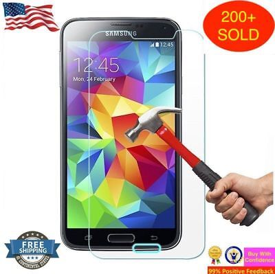 Ultra Slim Premium HD Tempered Glass Screen Protector for Samsung Galaxy S5-
