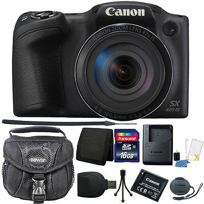 Canon PowerShot SX420 IS 20MP WiFi  NFC Enabled 42X Optical Zoom Digital Camera