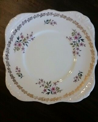 ROYAL GRAFTON CAKE PLATE VINTAGE -FROM ENGLAND- PROBABLY 40 YEARS OLD