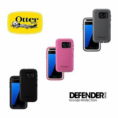 Otterbox Defender case for Samsung Galaxy S7 With Belt Clip New