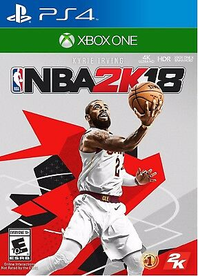 NBA 2K18 For PlayStation 4-Xbox One Standard Edition- Brand NEW