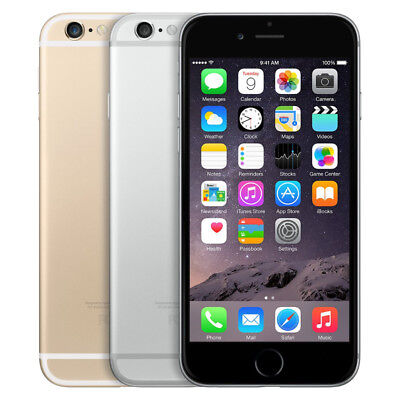 Apple iPhone 6 - 16GB 64GB 128GB - Factory Unlocked AT-T Verizon T-Mobile Sprint