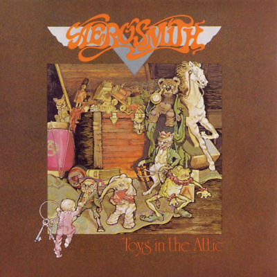 Aerosmith Toys in the Attic 180g New Sealed LP vinyl Columbia Records
