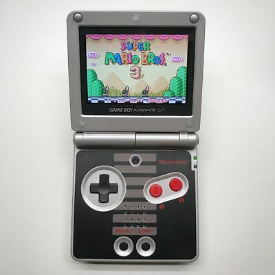 Nintendo Game Boy Advance GBA SP NES Classic Edition System AGS 101 Brighter NEW