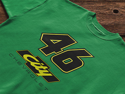 Cole Trickle Days Of Thunder 46 City Chevrolet short sleeve shirt