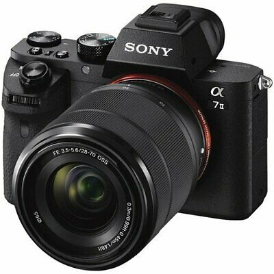 Sony Alpha a7 II Mirrorless Digital Camera with FE 28-70mm f3-5-5-6 OSS Lens