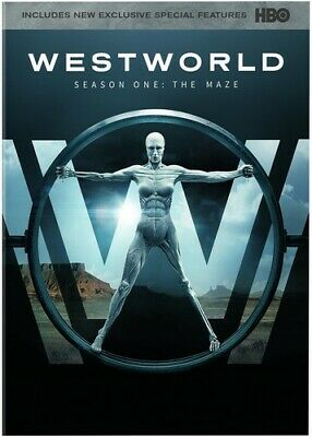 Westworld The Complete First Season New DVD Amaray Case
