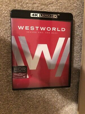 Westworld Season One  The Maze Bluray - 3 Dosv Set Blu-ray - Case w Artwork