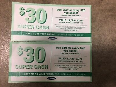 Old Navy 60 Worth Super Cash Coupon 60 Off 150 Purchase  Nov 29th-Dec 5th