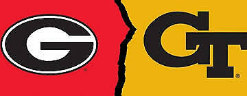 Georgia Bulldogs vs- Georgia Tech Yellow Jackets Football Tickets