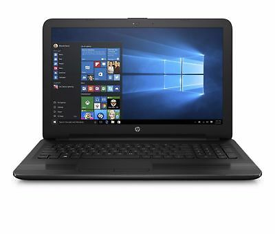 New Sealed HP 15-ba015wm 15-6 laptopAMD Quad-core4GB500GBDVDRWWin10Black