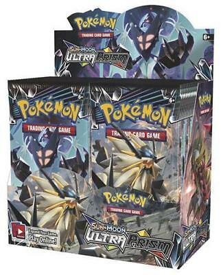 POKEMON TCG SUN - MOON SM5 ULTRA PRISM BOOSTER SEALED BOX ENGLISH LIMITED QTY