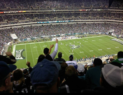 Philadelphia Eagles NFC Championship Game- 2 tickets section 242 row 15