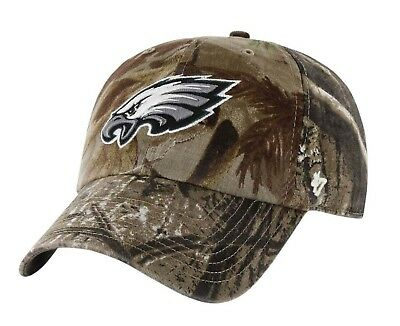 NEW 47 PHILADELPHIA EAGLES Camo Realtree Hunting Football Hat Cap adjustable
