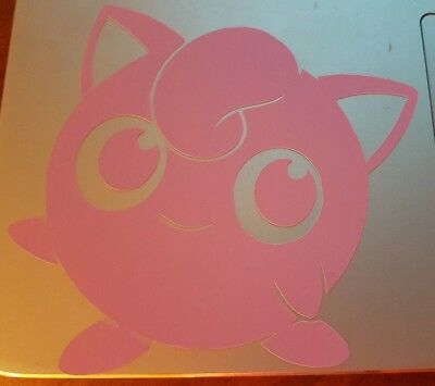 Jigglypuff Pokemon Go Vinyl Decal Sticker Car  Wall  Laptop  Window
