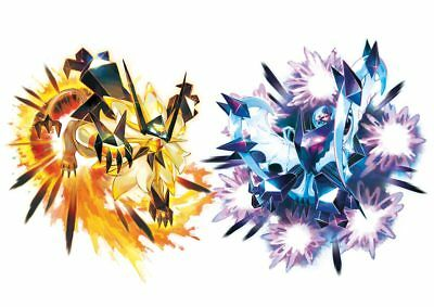 Pokemon Legit 6 IV Fusion Set for Necrozma Pokemon for Ultra Moon and Ultra Sun