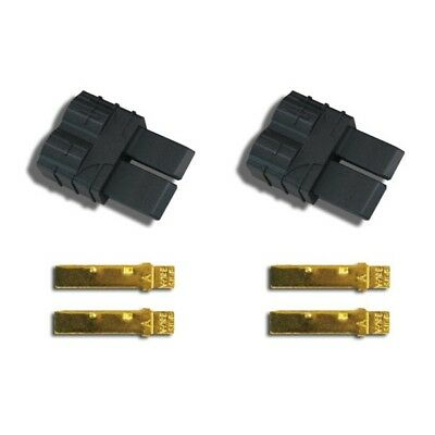 Traxxas 3070 High-Current Male Battery ESC Lead Connectors Plugs Set Charge Plug