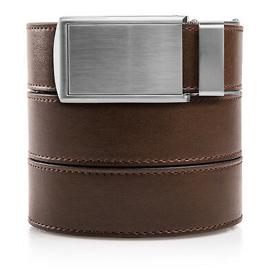 SlideBelts Factory Seconds Classic Mocha Brown Leather Belt
