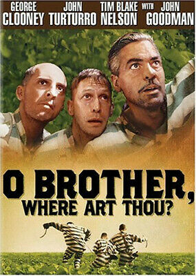O Brother Where Art Thou New DVD Widescreen