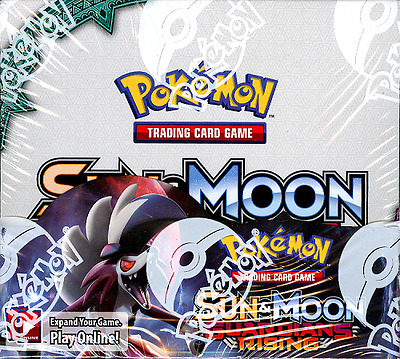 POKEMON TCG SUN - MOON GUARDIANS RISING BOOSTER SEALED BOX - ENGLISH - IN STOCK