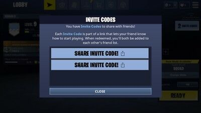 Fortnite mobile invite Instant delivery
