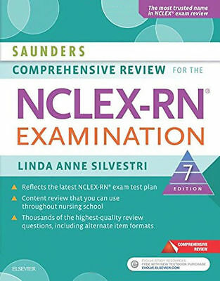 Saunders Comprehensive Review for the NCLEX-RN Examination 7e PAPERBACK