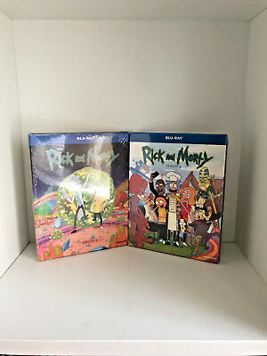Rick and - Morty Complete TV Series Seasons 1 - 2 Boxed  Blu-Ray  Sealed