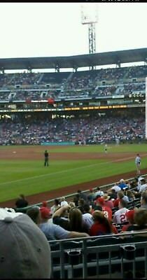 2 TICKETS PITTSBURGH PIRATES VS CINCINNATI REDS 45 LOWERS 4TH ROW OF SECTION