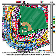 4 Cubs Tickets vs Pirates 411 Section 134 - Parking Pass