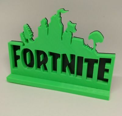 Fortnite Battle Royale Logo Stand XBOX PS4 Fortnite Birthday Fortnite Party