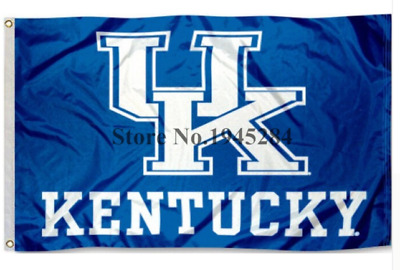 University of Kentucky 3x5 logo flag March Madness
