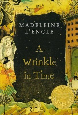 A Wrinkle in Time Time Quintet by Madeleine LEngle Paperback Book 1 NEW