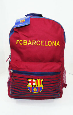 FC Barcelona BACKPACK BAG 16 x 12 x 5  New Football Soccer Red