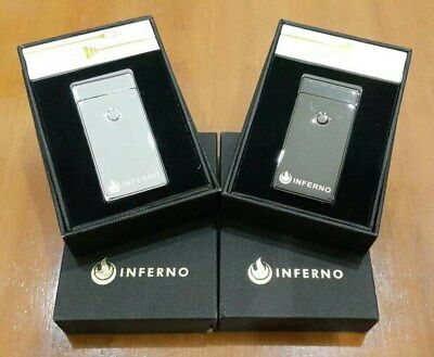 Inferno USB Rechargeable Lighter - Electric LighterWindproofFlameless Metal