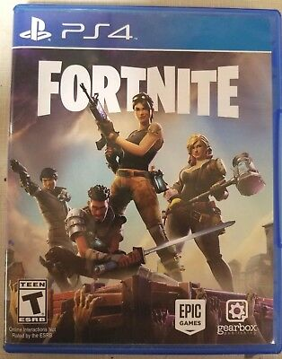 Fortnite Sony PlayStation 4 2017 Excellent Condition