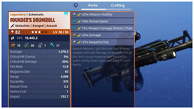 PS4PC Fortnite PVE Save the World - Power Level 82 Founders Drumroll LV 3030