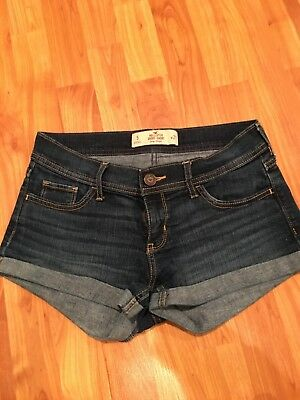 Womens Hollister - Co Low Rise Short Shorts Medium Wash Size 5