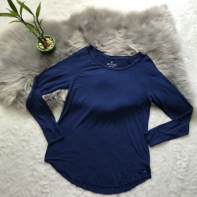 American Eagle Outfitters Royal Blue Soft And Sexy Jeggings T Size Medium