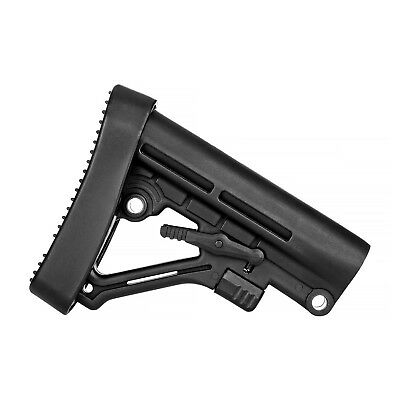 Trinity Force TBA05 Omega LE Style 6 Position Mil-Spec Rifle Butt Stock BLACK