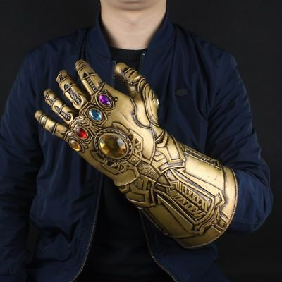 SHIPS SAME DAY Thanos Infinity Gauntlet Glove Marvel Legends Avengers 2018 Prop