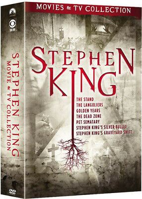 Stephen King Movies - TV Collection New DVD Boxed Set Full Frame